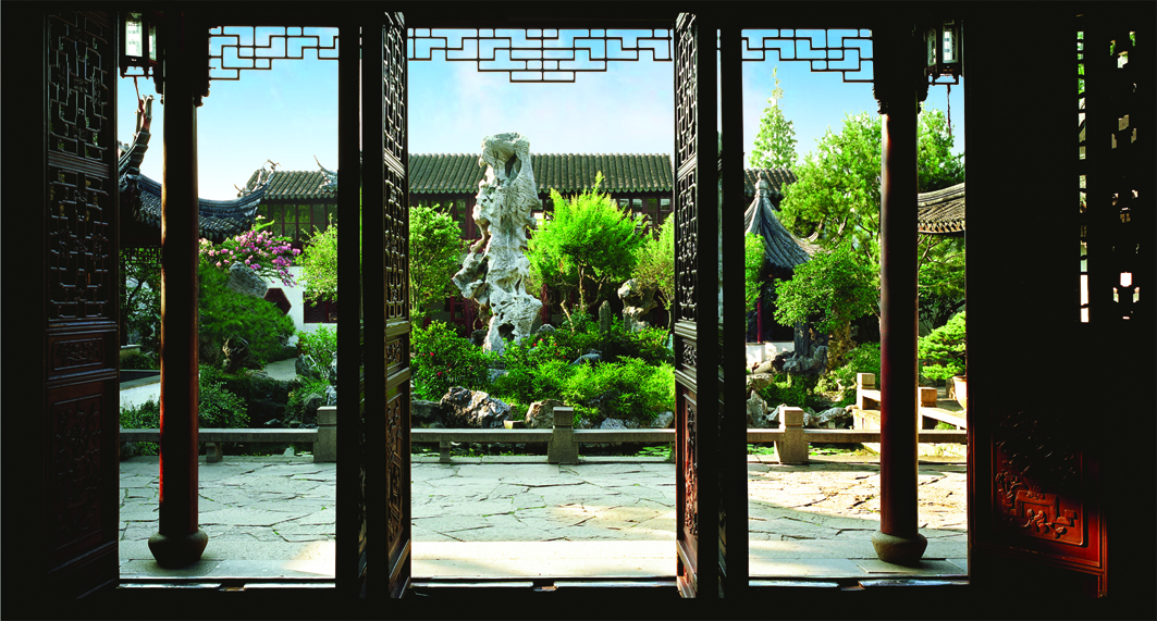 Lingering Garden in Suzhou, China